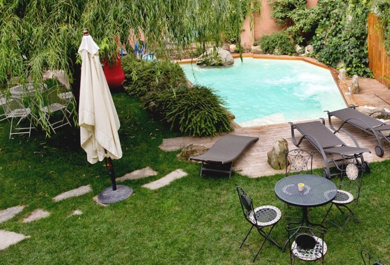 Nice studio with shared pool & Wifi, holiday rental in San Giacomo