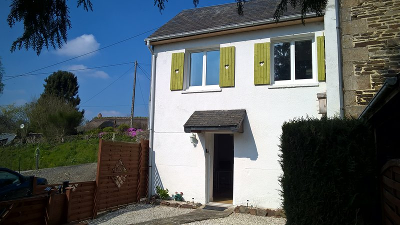 Cottage in Brouains, holiday rental in Romagny