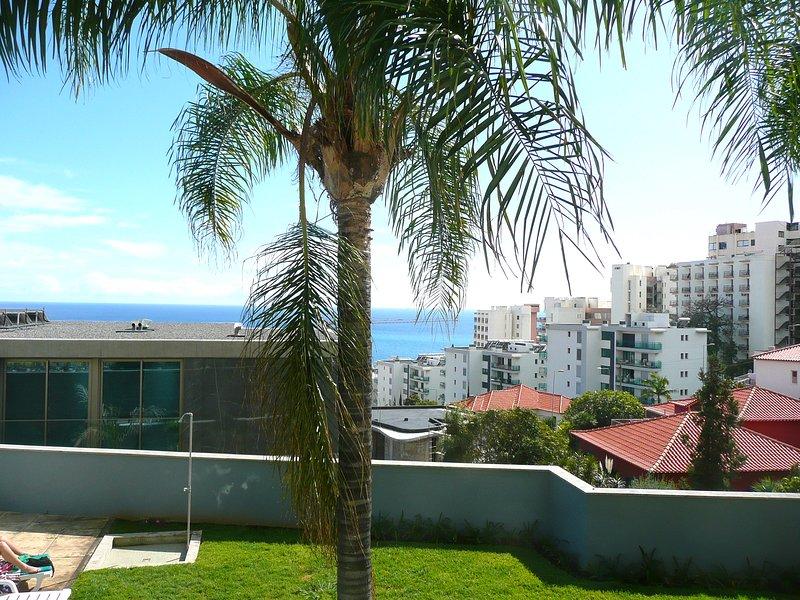 Vista del océano desde nuestro balcón.