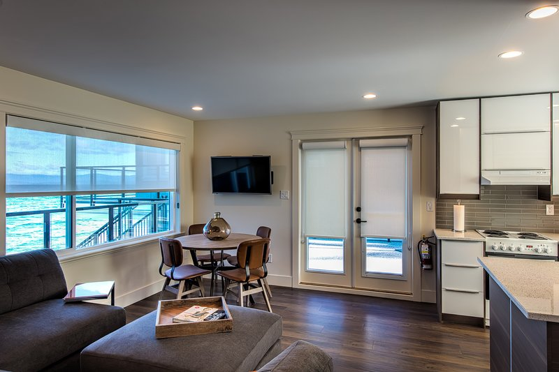 Stunning 2nd floor water views from the living, dining spaces.