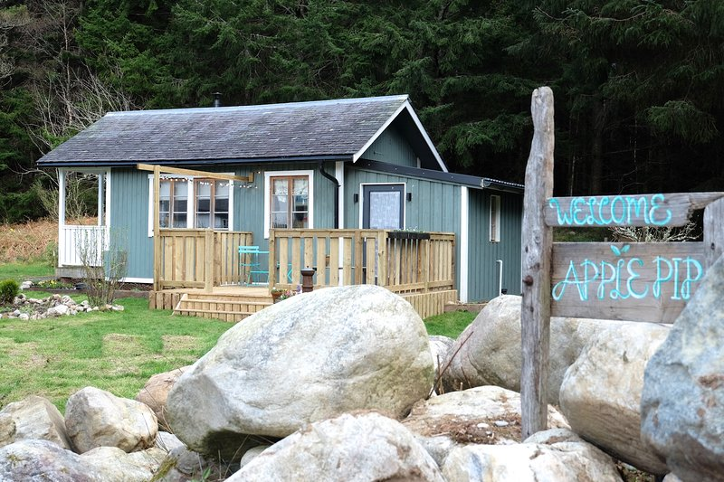 Apple Pip - self catering tiny house, alquiler vacacional en Fort Augustus