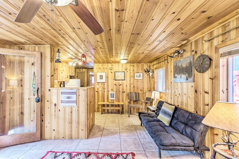 With beds for 4, this home is ideal for small groups.