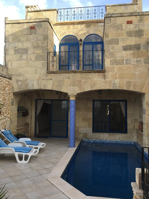 Private Pool with Terrace, Balcony and Roof Terrace, all looking out on the amazing views