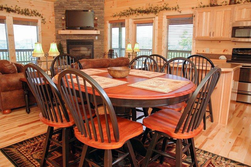 Stol, möbler, heminredning, bord, matbord
