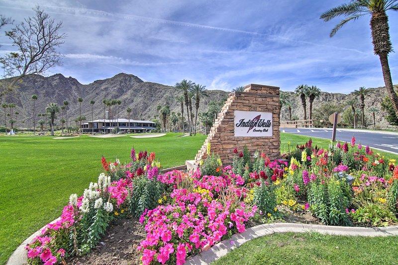 Chic Indian Wells Resort Condo w/Pool & Patio, vacation rental in Indian Wells