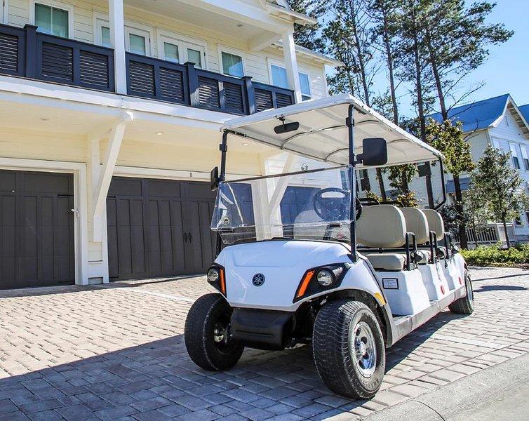 Golf Cart Incl con il vostro soggiorno