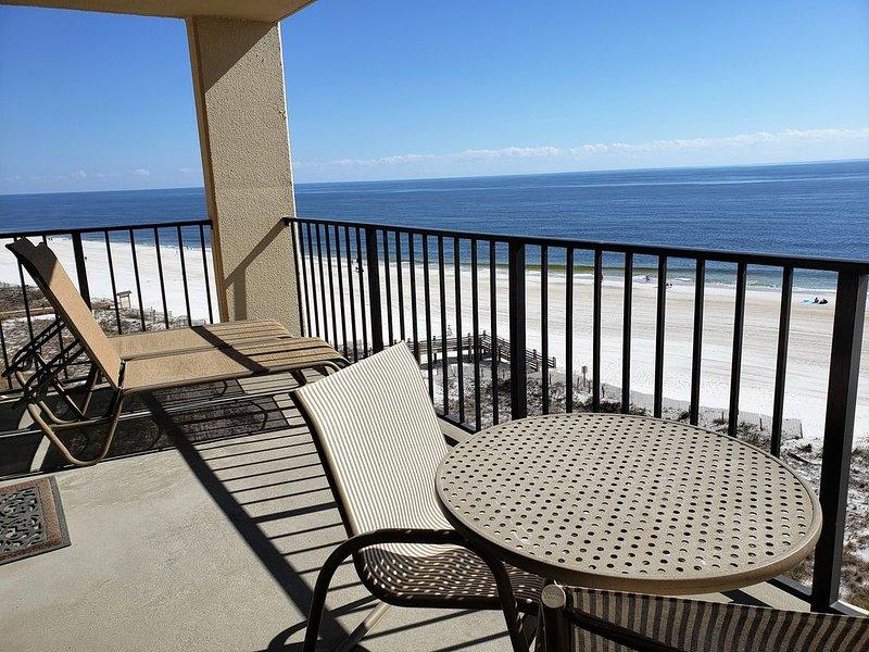 Balcony perfect for sunning and enjoying the beautiful coastal views