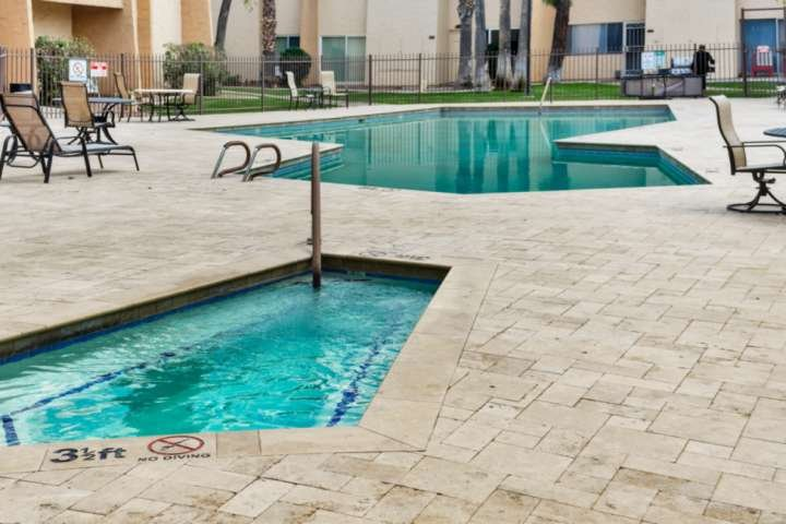 Soak up the Arizona Sun at the Community Pool, Spa & BBQ Grills just steps away!