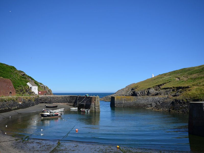 Stroll around nearby harbour village of Porthgain,with a great pub and art gallery