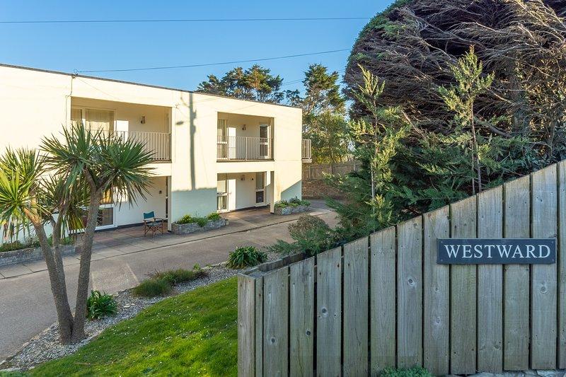 12 Westward Flats, location de vacances à Trebetherick