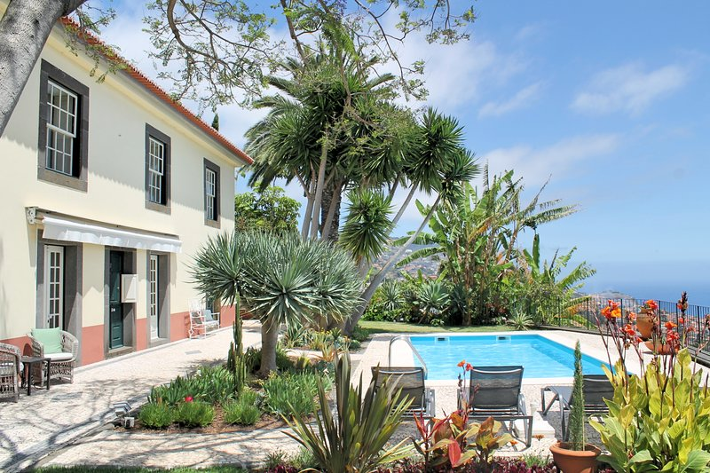 Luxurious, Traditional, Garden, Peaceful with Heated Pool | Quinta D'Alegria, holiday rental in Madeira