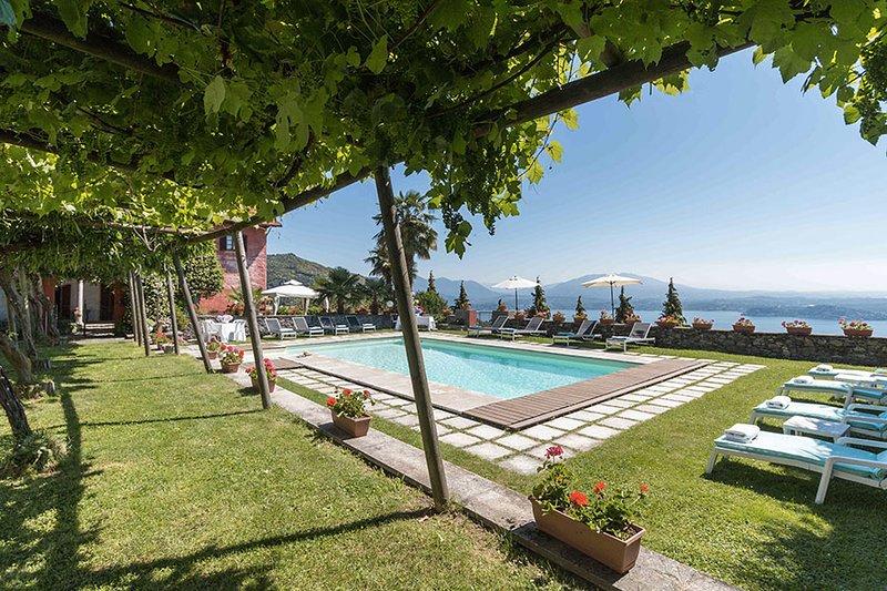 Villa sul Lago APARTMENT 1, holiday rental in Fosseno