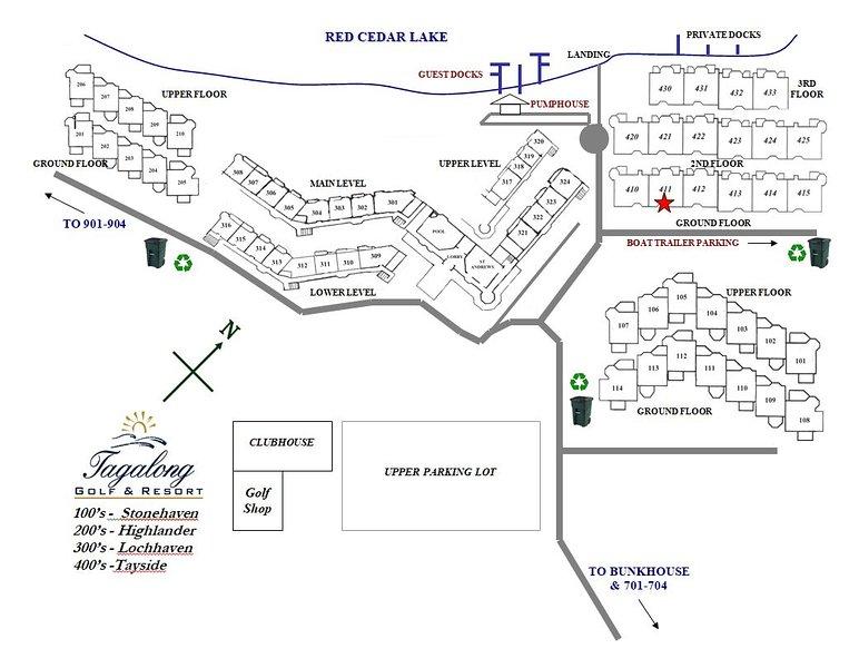 Unit 411B 1BD/ 1BA Efficiency condo, vacation rental in Sarona