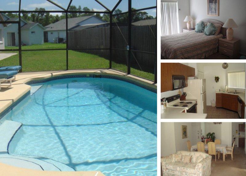 5 Star Private Villa, Spring Lake, Orlando Villa 3020, alquiler vacacional en Buena Ventura Lakes