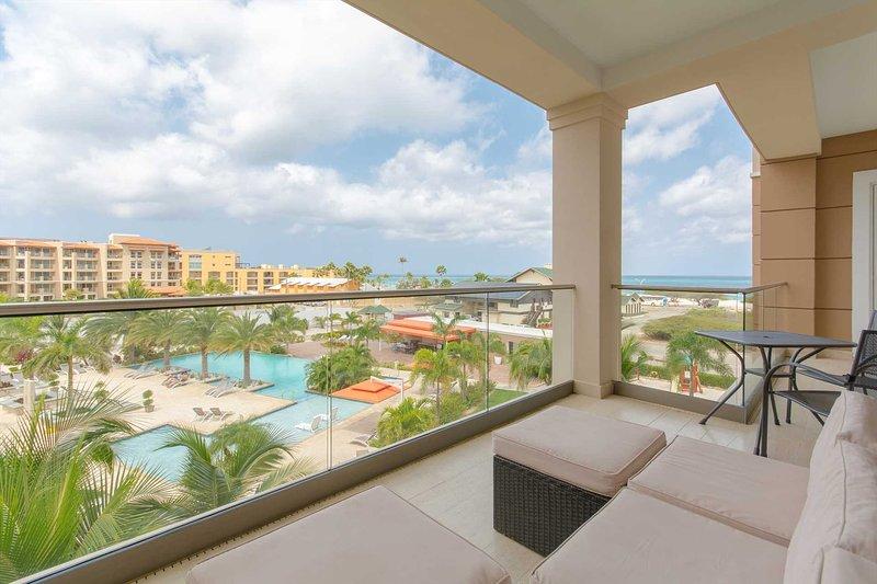 Welcome to your Miramar Pleasure Two-bedroom condo at LeVent Beach Resort Aruba