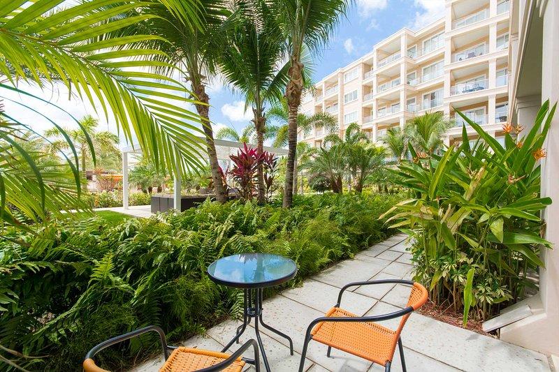 Welcome to your Garden Breeze One-bedroom condo at LeVent Beach Resort Aruba!