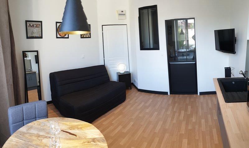 Le STUDIO vous accueille au cœur de Chaumont, holiday rental in Arc-en-Barrois