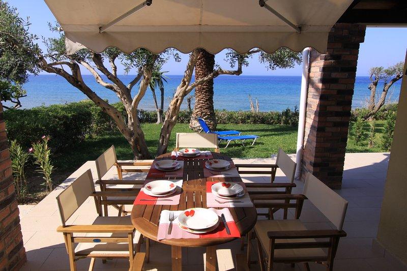 Glyfada Beachfront Housel Ab4g, casa vacanza a Glyfada