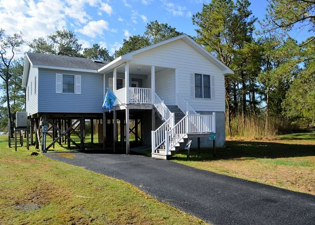 Sandy Moose - Waterfront - Single Family Home, vacation rental in Chincoteague Island