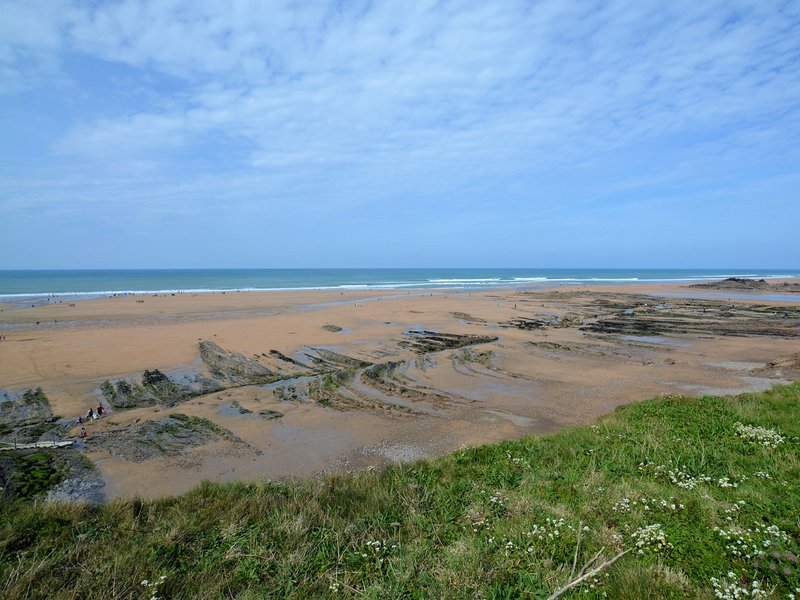 Crooklets Beach nella vicina Bude