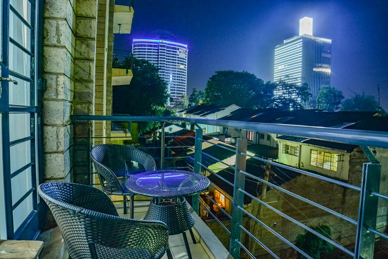 Enjoy the cool Nairobi breeze from your private balcony