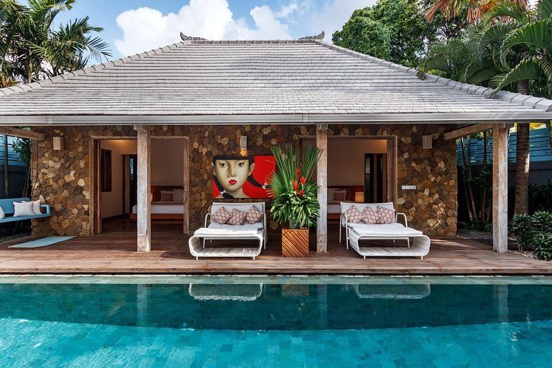 Sleek-Modern 3Beds Villa, 5 mins to Seminyak, vakantiewoning in Kerobokan Kelod