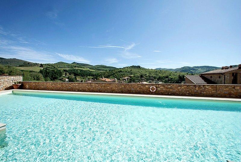 Casa Borgo, Borgo Gaiole, vacation rental in Barbischio