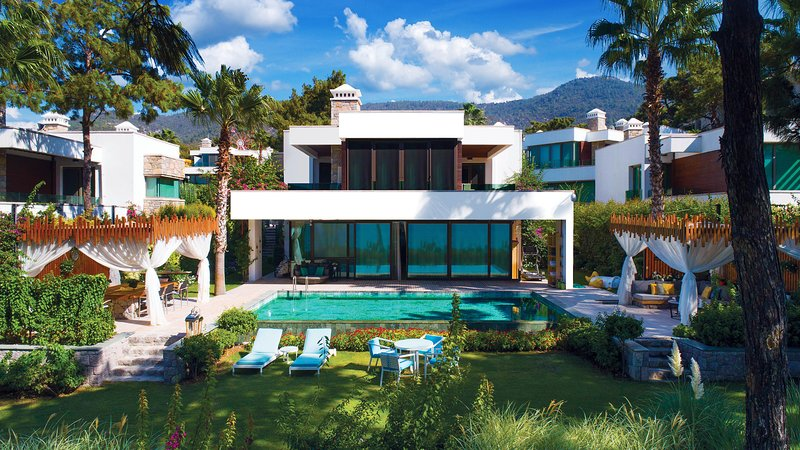VHILLAS Private Luxury VILLA AZUR, vacation rental in Torba