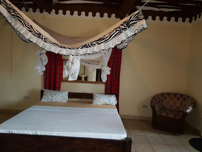 KIVULII VILLAS Deluxe Double Room 1, holiday rental in Diani Beach