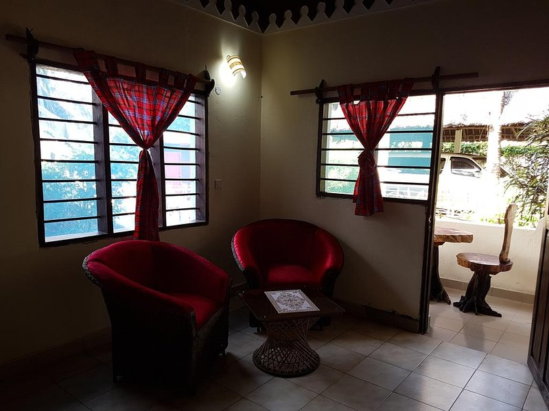 KIVULII VILLAS Triple Room 2, holiday rental in Diani Beach