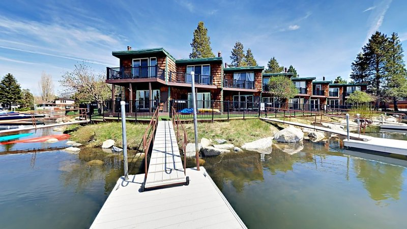 Spring into Summer and stay in the Tahoe Keys. Private boat dock*Extra fee** Boat,jet-ski or kayak