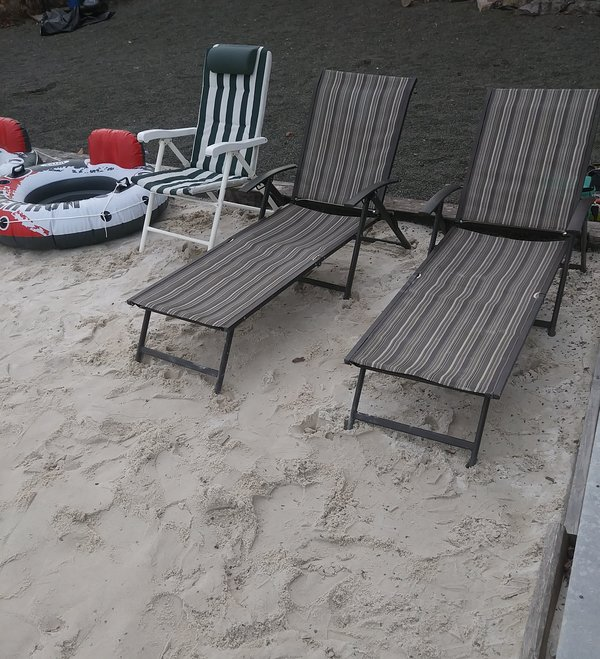 Outdoor beach area