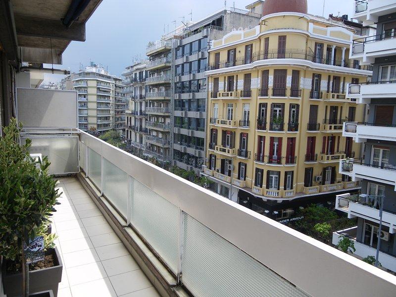 En bild på balkongen