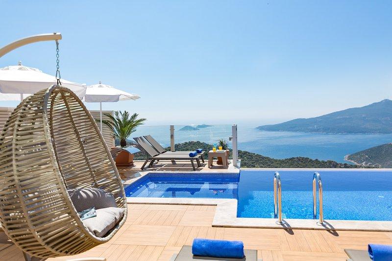 Villa La Mer Azur Kalkan, holiday rental in Bezirgan