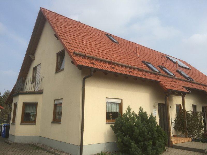 Behindertengerechte Ferienwohnung in Herbsleben, Nähe Erfurt – semesterbostad i Straussfurt