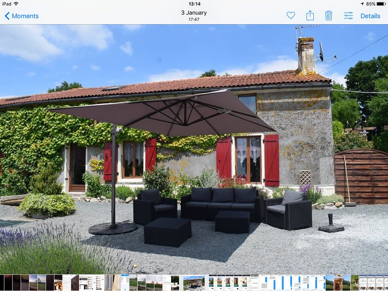La boule gites a little bit of heaven on earth, holiday rental in Saint-Aubin-le-Cloud