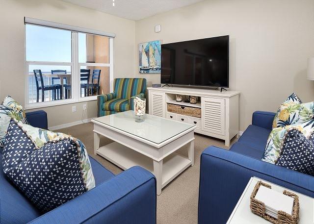 Novos tapetes, tratamentos de janela, móveis e muito mais!