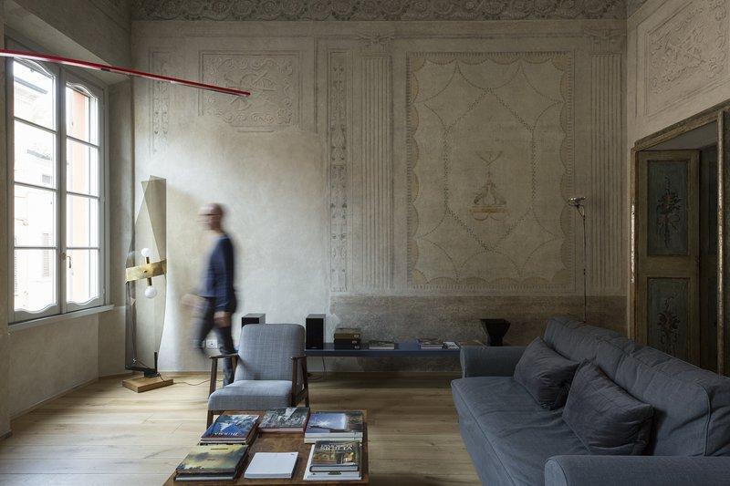 Appartamento affrescato di 180 mq in palazzo seicentesco del centro di Mantova, casa vacanza a San Benedetto Po