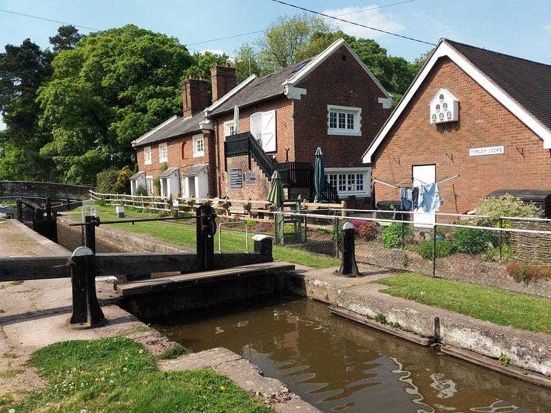 Entlang des Shropshire Union Kanals