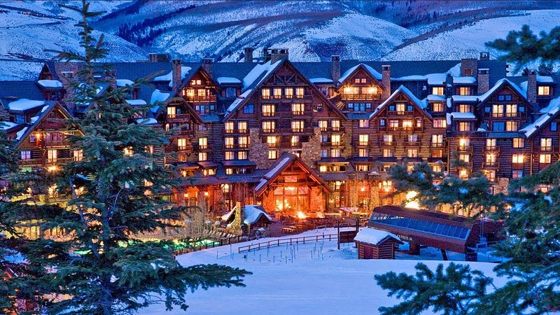 Christmas week at the luxurious Ritz in Aspen, Colorado Chalet in Aspen
