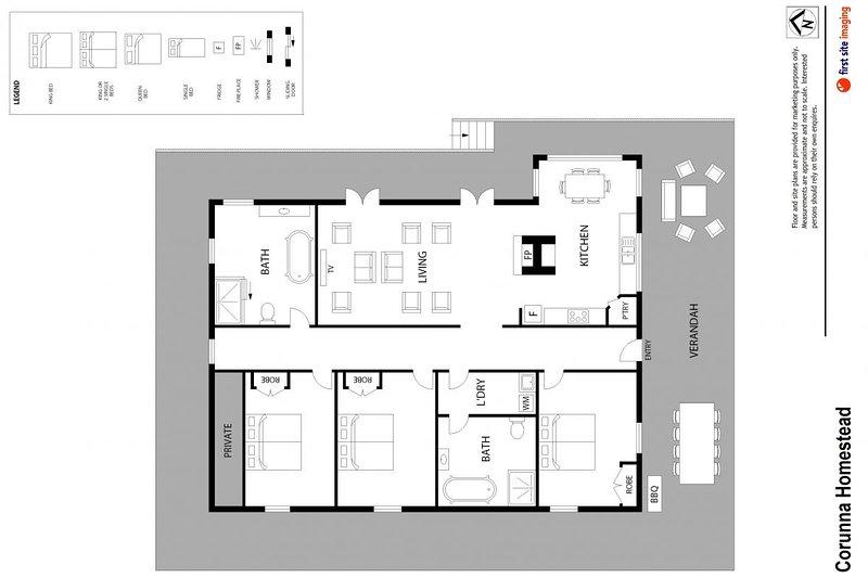 Hunter Valley Accommodation - The Homestead at Corunna Station (3 Bedrooms) - Pokolbin - all