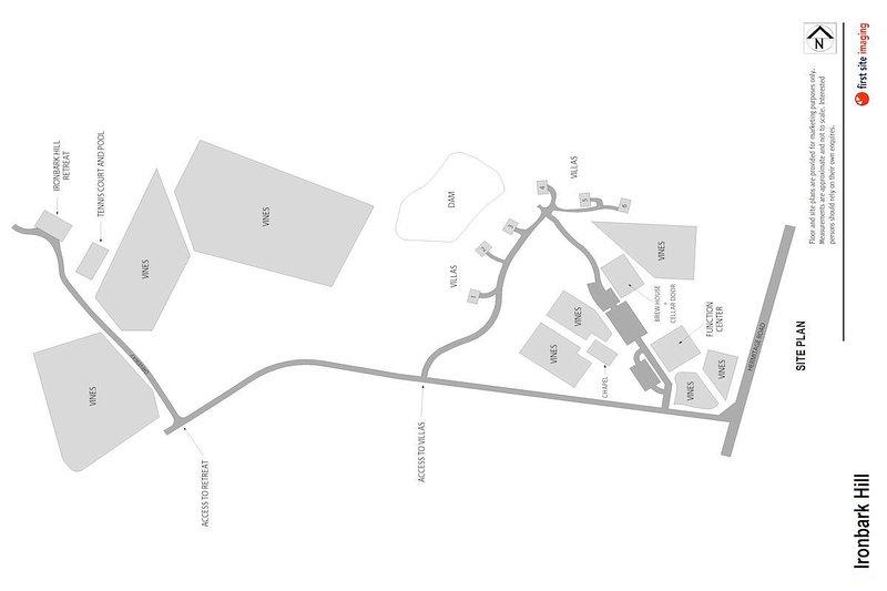 Hunter Valley Accommodation - Ironbark Villa 1 - Pokolbin - Floor Plan