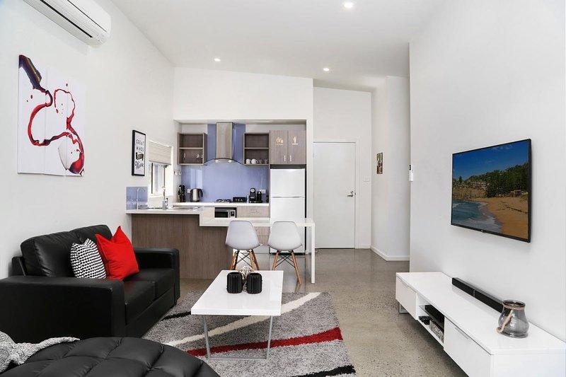 Hunter Valley Accommodation - Ironbark Villa 1 - Pokolbin - Living Room