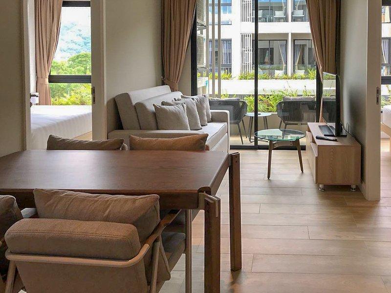 2 bdr apartment near Bangtao beach #606, holiday rental in Cherngtalay
