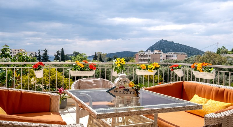Sirena Tolo Luxury Apartment, location de vacances à Iria