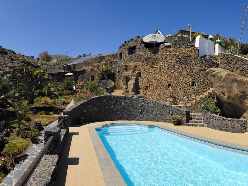 Ferienhaus Castillo II in La Asomada, holiday rental in La Geria