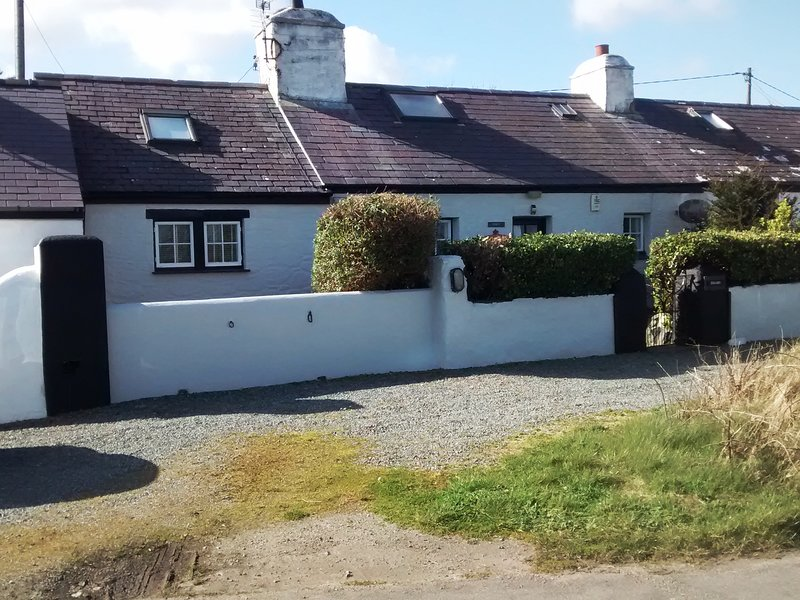 Friars Cottage is all you see,with enough off road parking for 3 medium sized cars.