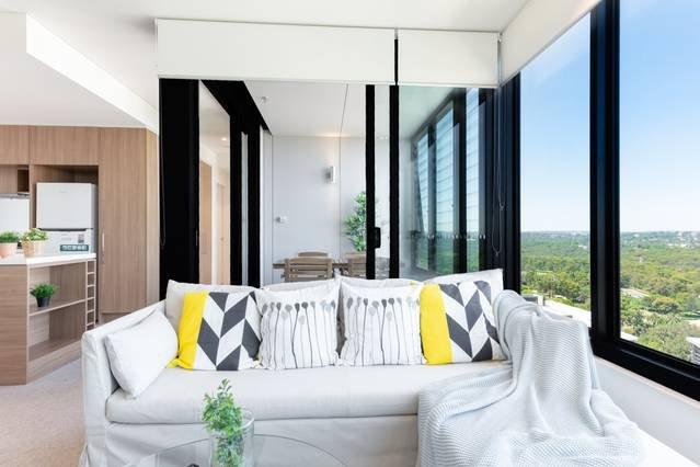 Fantastic city view two bedders apartment, location de vacances à Lane Cove