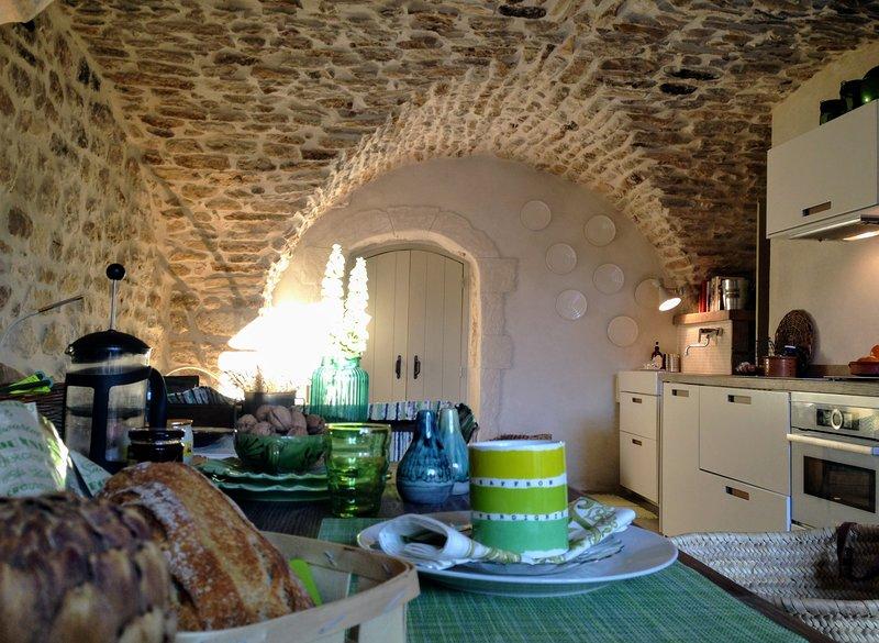 Historic Sanctuary Near Uzès and The Pont du Gard, Occitanie, France, holiday rental in Saint-Maurice-de-Cazevieille
