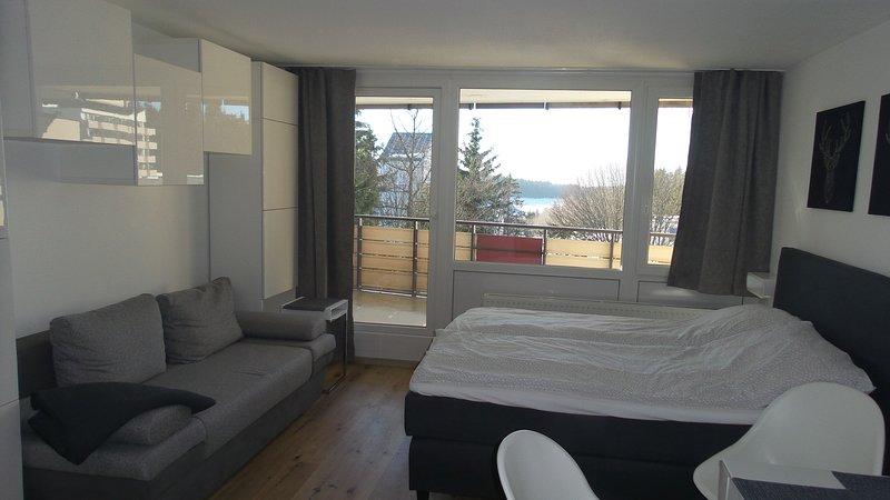 Apartment mit Blick über den Bayrischen Wald ,oberhalb von Sankt Engelmar, vacation rental in Bogen